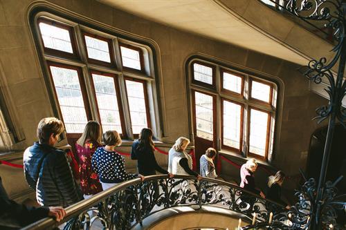 Grand Staircase at Biltmore