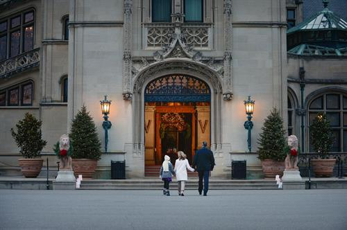Entrance to Biltmore House
