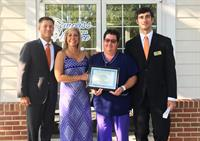 Compass Regional Hospice Nurse, Cathy Willis, Receives Caregiver Award