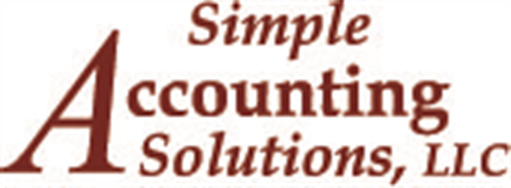 Simple Accounting Solutions, LLC