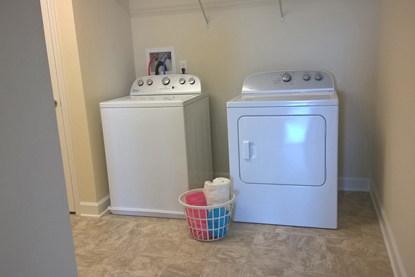 Full Size Washer and Dryer in Select Apartments