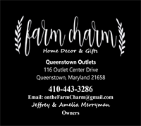 GRAND OPENING!!!  Farm Charm Home Decor & Gifts