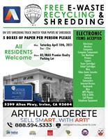 2021 EWaste | Shred SmArt with Art! Free