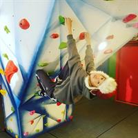 Santa's Village trip and a little indoor rock climbing