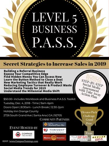 Level 5 Business PASS
