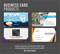 BIZ CARDS for a Fresh Look this New Year 2018