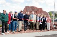 Red Rock Commercial Center Ribbon Cutting