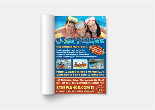 Visitor Guide Ad Design