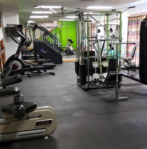 Athletic Club work out room