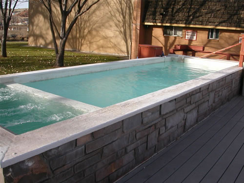 Out door Mineral Hot Tub