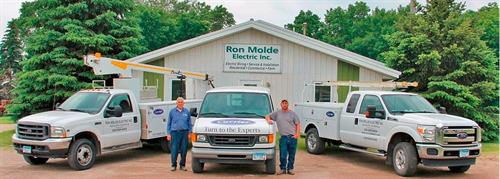 Owners Ron & Nathan Molde