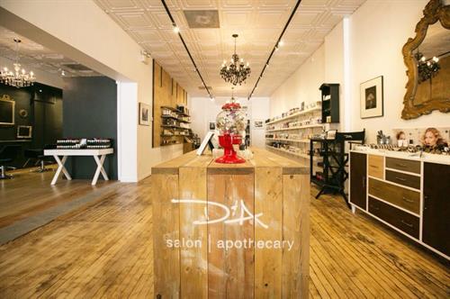 Retail: Kevin Murphy, REF, Living Proof, Jurlique, Moria Cosmetics, Scalisi, Ursa Major.