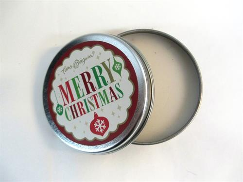 Our holiday scented candle tins are amazing!