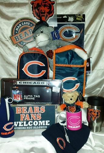We carry sports collectible merchandise beginning mid November through December