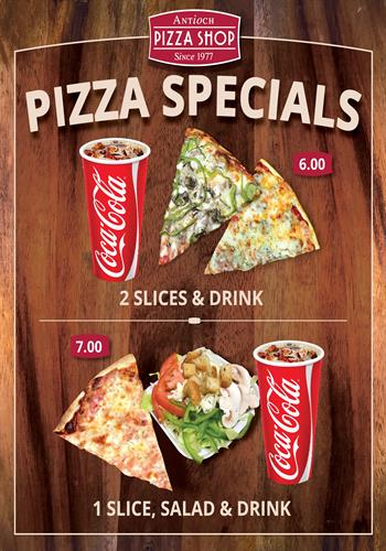 Daily Pizza Specials