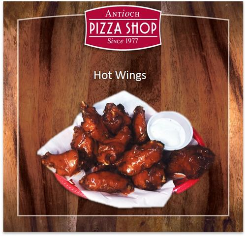 Wings: Hot - Mild - Sweet Chili - Honey BBQ - Garlic Parmesan