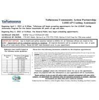 Tallatoona Community Action LIHEAP Cooling Assistance