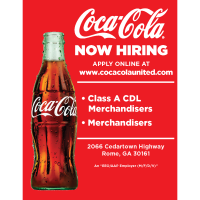 A CDL and Non-CDL Merchandiser positions