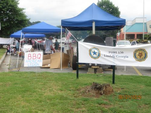 BBQ fund raiser
