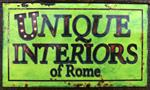 Unique Interiors of Rome