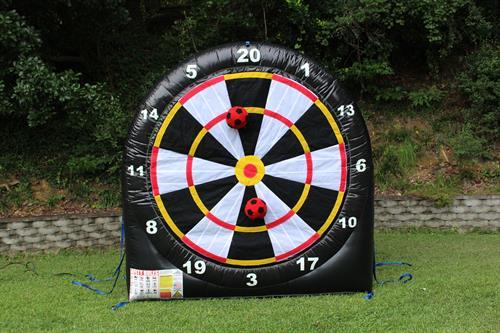 soccer darts board