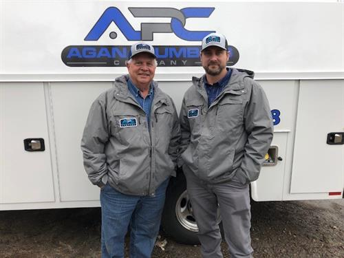 Tim Agan and Josh Agan - Masters Unrestricted Plumbing Licenses