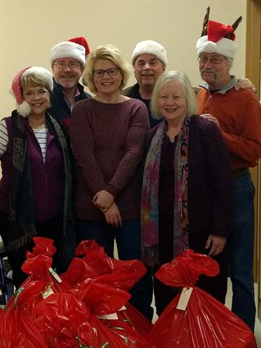Cancer Navigators & St. Mary's Church spreading holiday cheer to patients' families