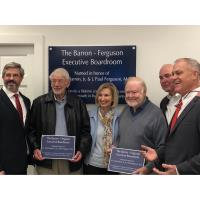 The Rome Floyd Chamber Executive Boardroom Named In honor of W. Frank Barron, Jr. & J. Paul Ferguson, M.D.