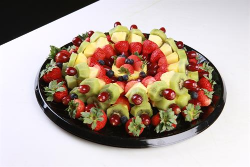 Fruit Kabob Platter- Great for your family BBQ!