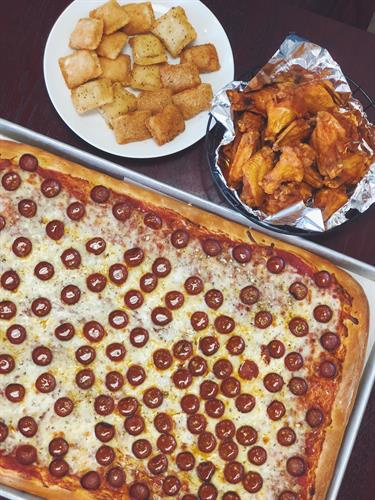 Buffalo's Original Pizza- Dine-In, Pick-Up or Let us Cater your Event