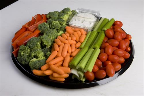 Vegetable Platter- Perfect for Meetings & Events