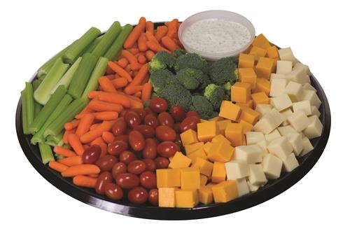 Vegetable & Cheese Platter- Perfect for Meetings & Events