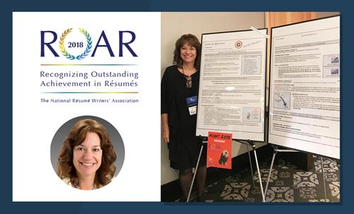 National Resume Writers' Association 2018 ROAR Award Winner