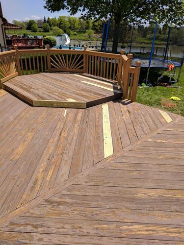 Deck Restoration: Before