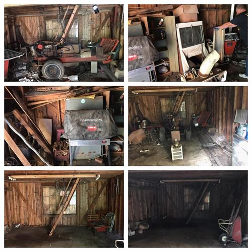 BARN CLEAN OUT