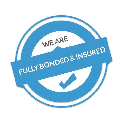 Fully Insured & Bonded
