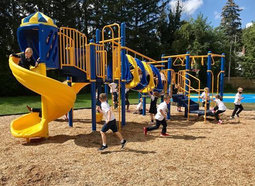 New playground fall 2021