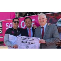 CHAMBER MEMBER T-MOBILE UNVEILS VETS DISCOUNT PROGRAM & PLEDGES TO HIRE 10,000 VETS/SPOUSES