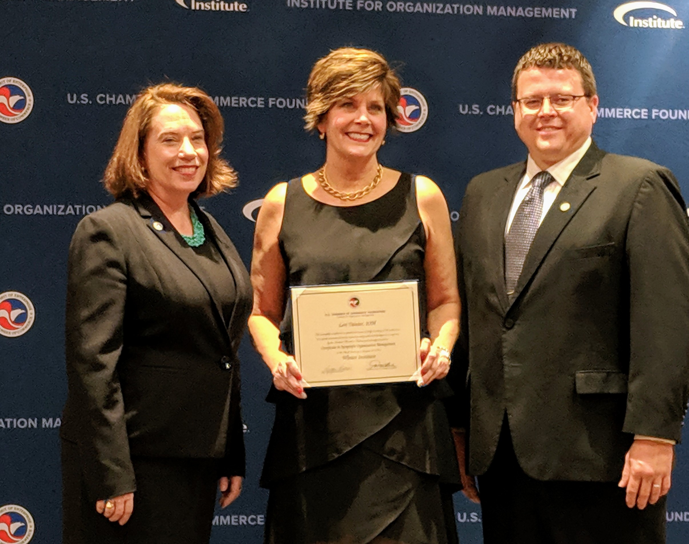 Lori Tainter, IOM of Greater St. Charles County Chamber of Commerce Graduates from Institute for Organization Management
