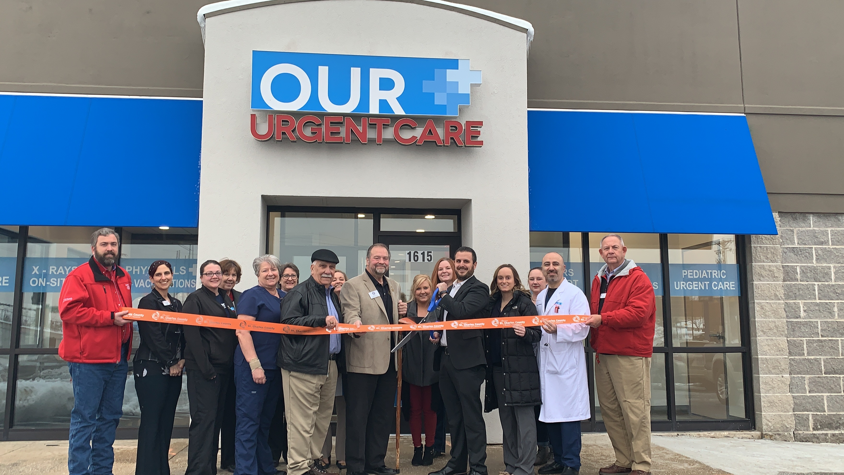 Our Urgent Care Celebrates  Grand Opening with Ribbon Cutting