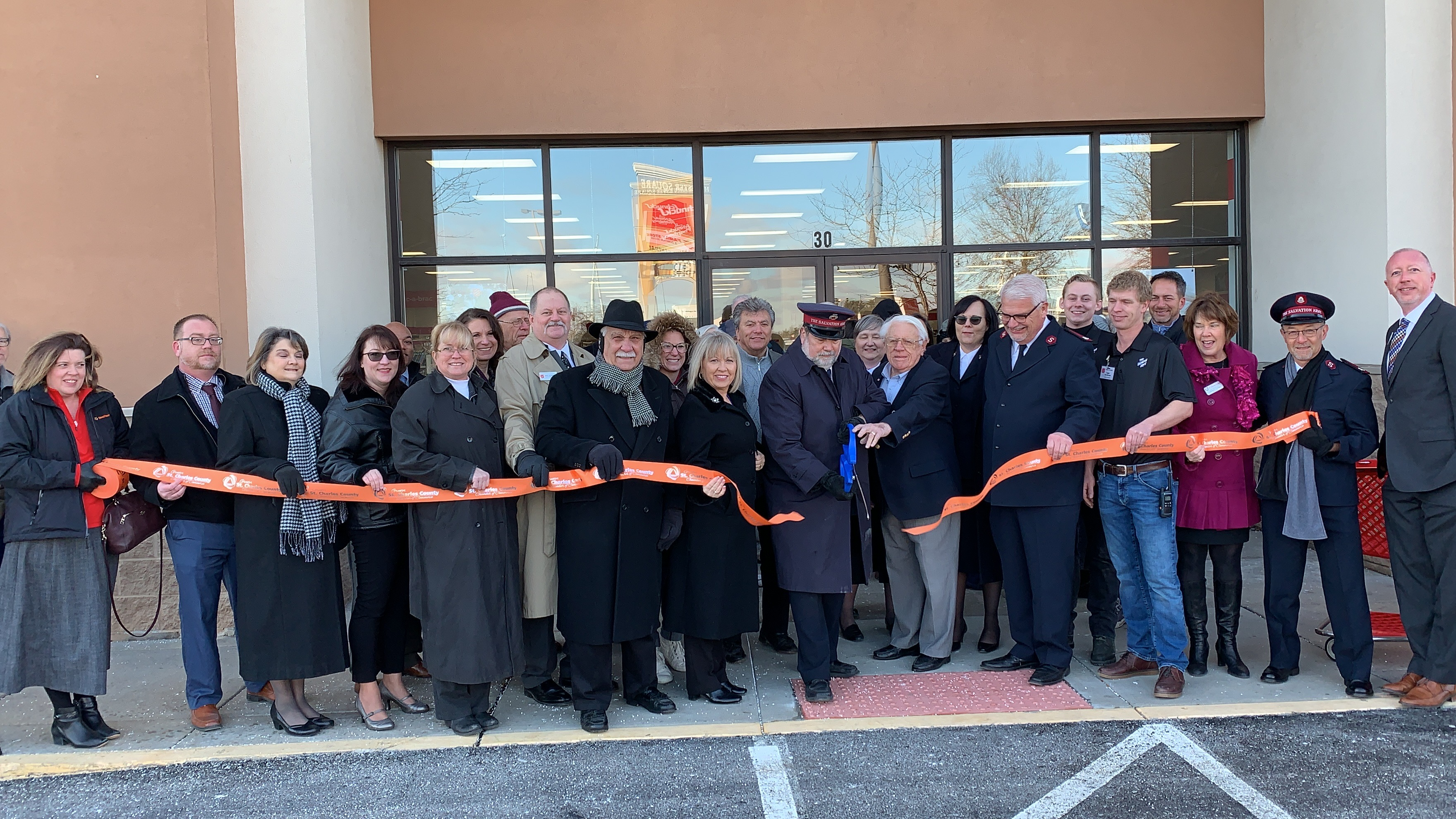 Image for The Salvation Army Family Store Celebrates Grand Opening with Ribbon Cutting