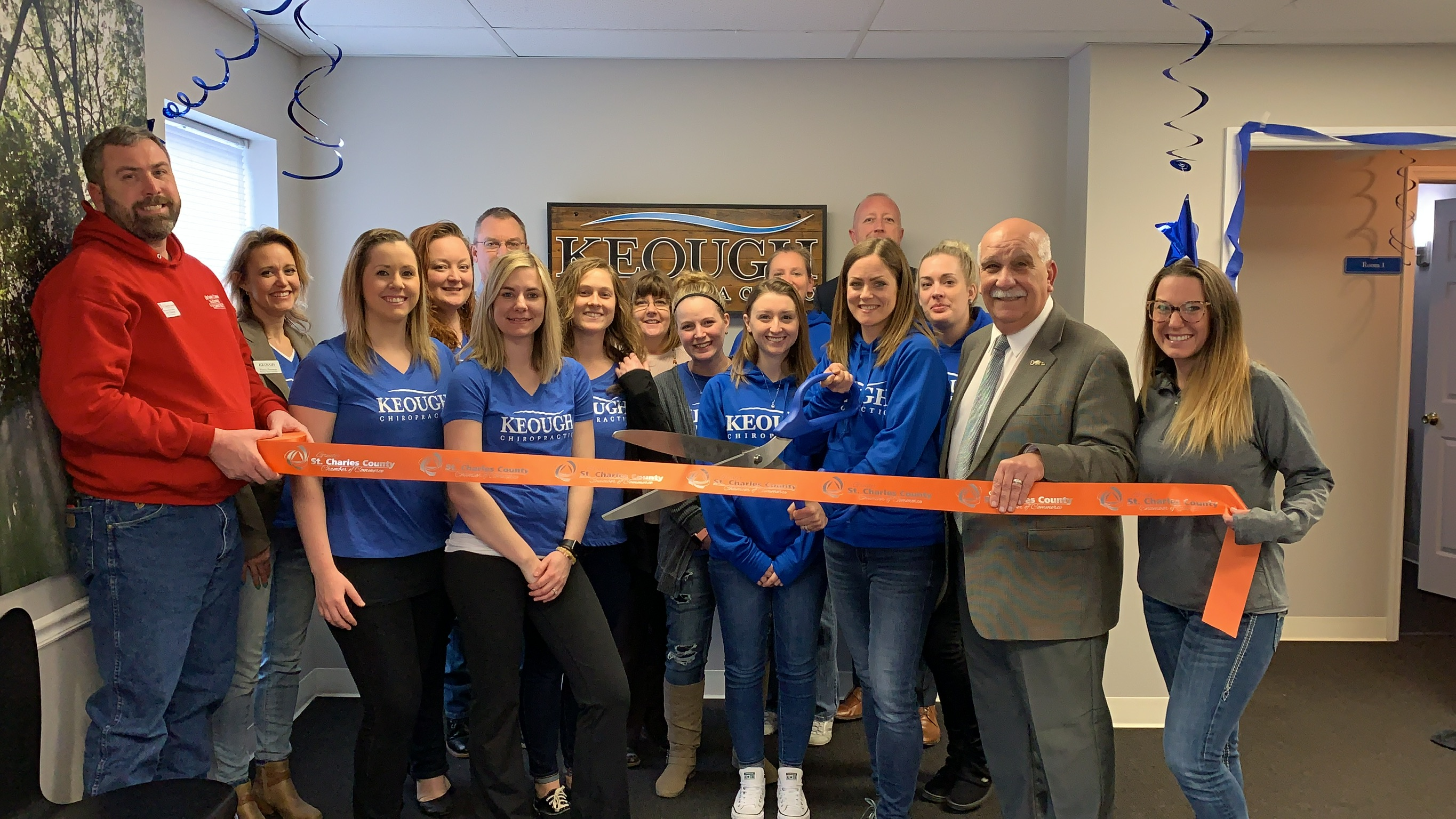 Keough Chiropractic Celebrates 10 Year Anniversary With a Ribbon Cutting