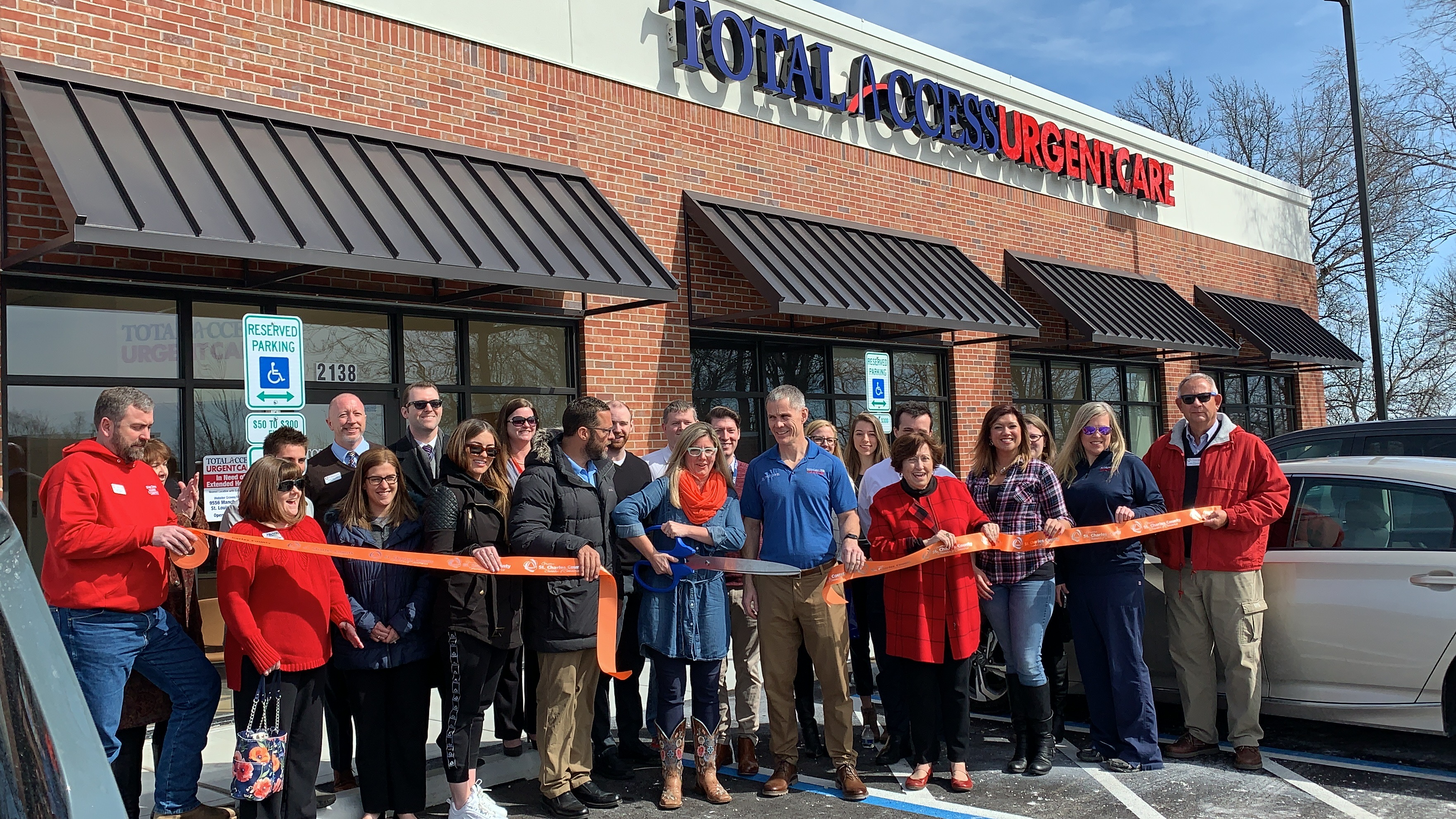 Image for Total Access Urgent Care Celebrates Grand Opening with Ribbon Cutting
