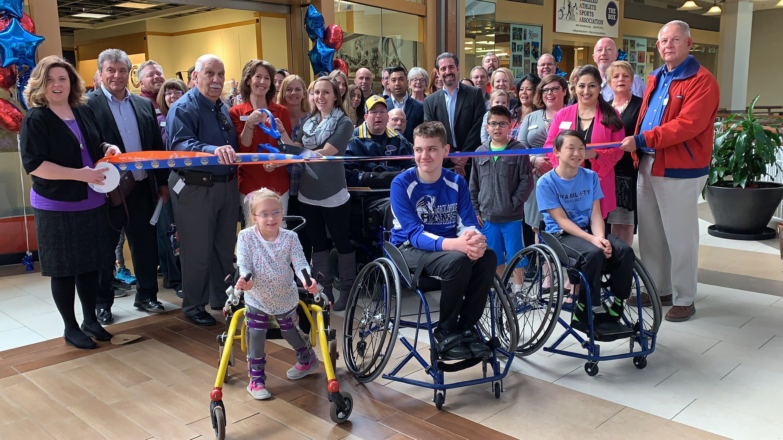 Image for Disabled Athletes Sports Association Celebrates Grand Opening with Ribbon Cutting