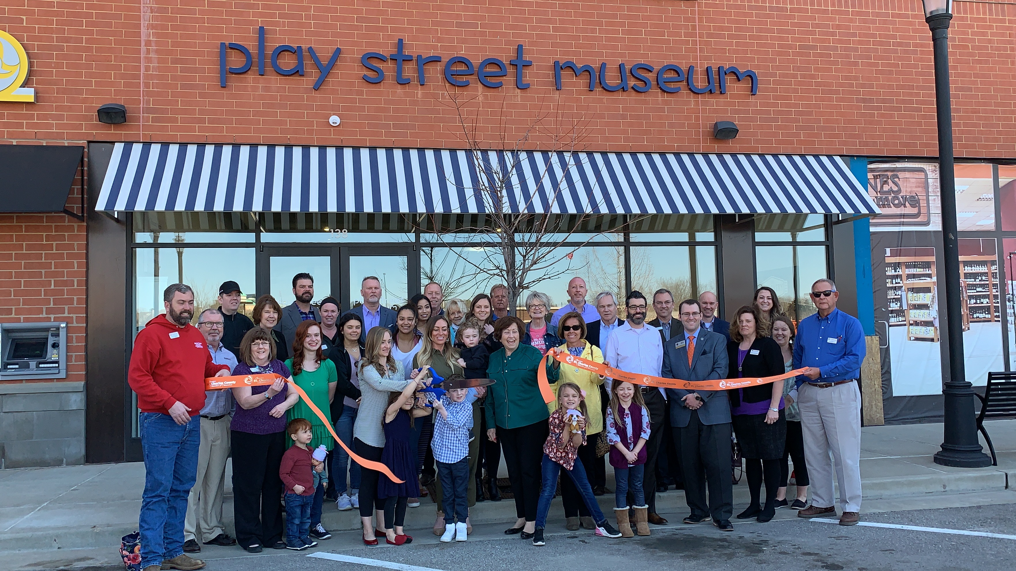 Play Street Museum Celebrates Grand Opening with Ribbon Cutting