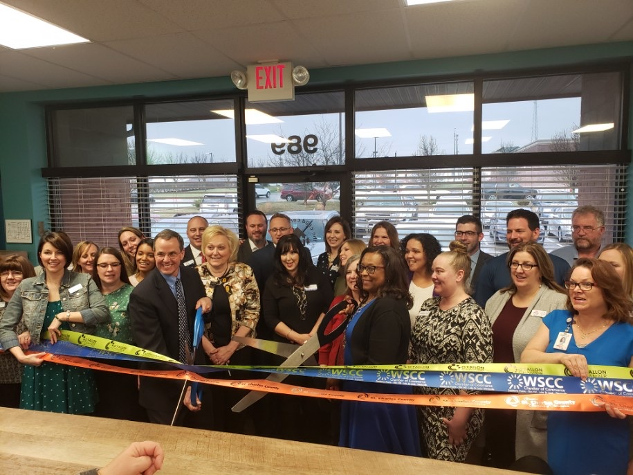 The Child Center Celebrates  Expansion and Remodel with Ribbon Cutting