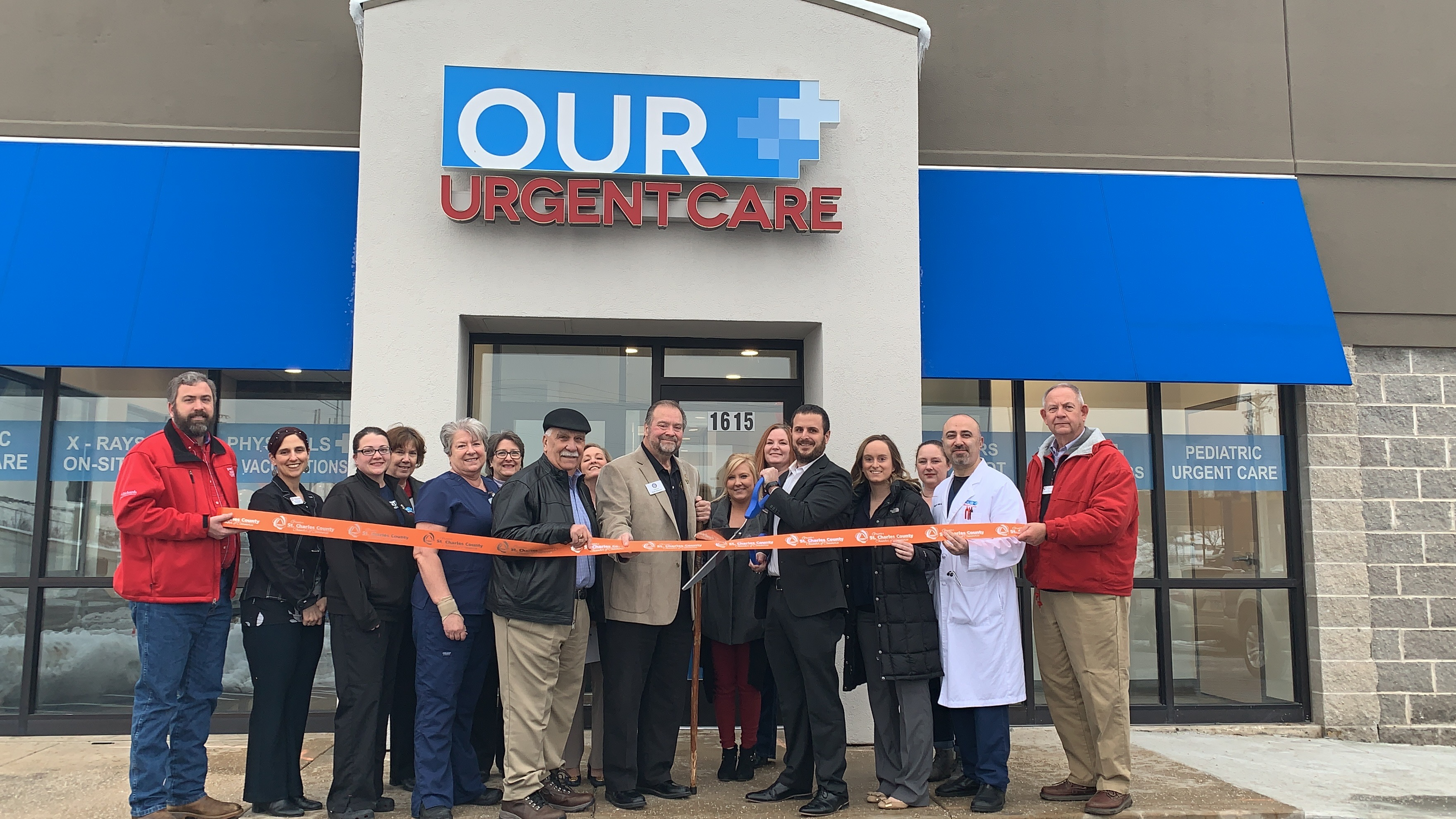 Image for Our Urgent Care Celebrates  Grand Opening with Ribbon Cutting