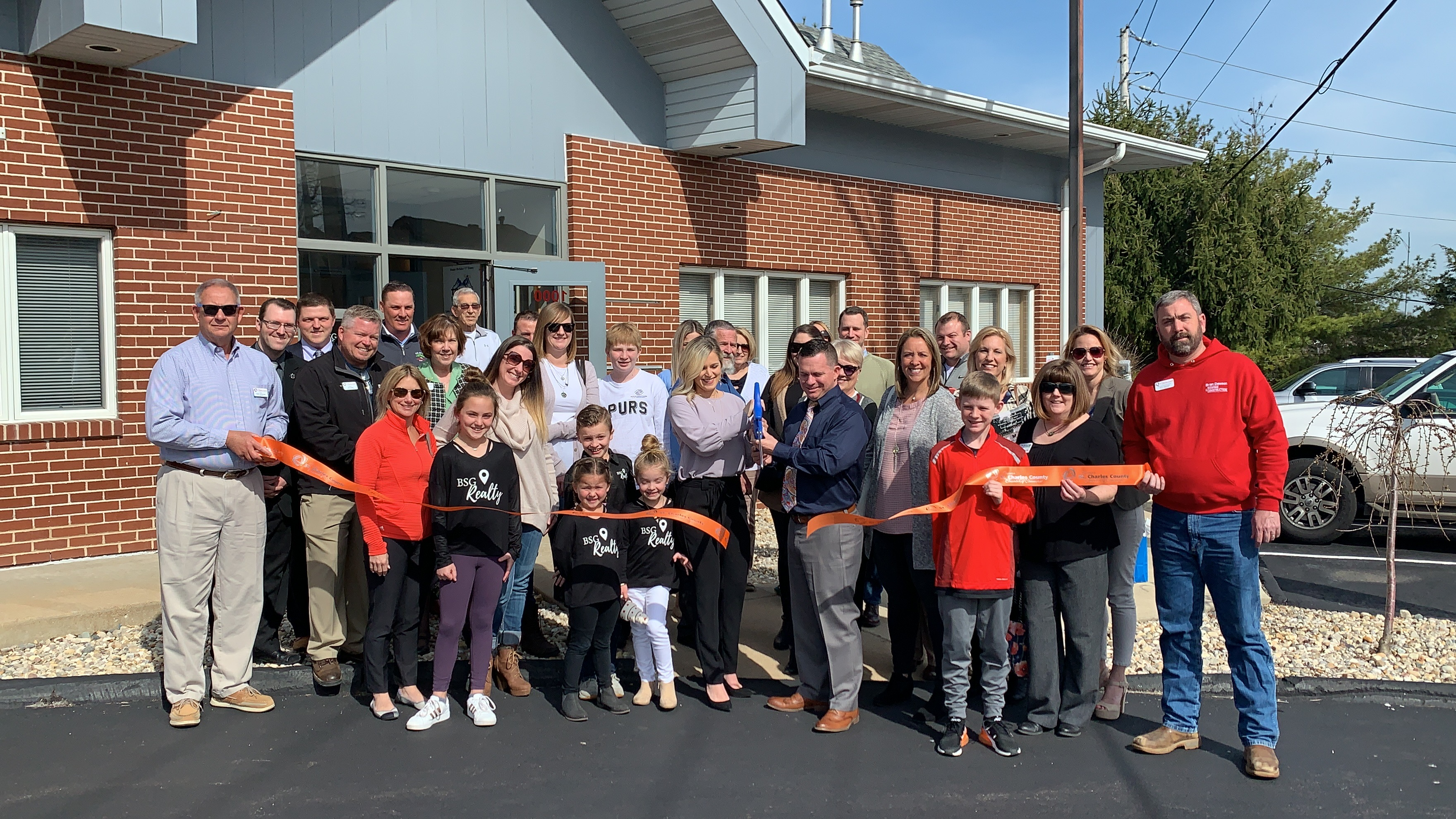 BSG Realty Celebrates  Grand Opening with Ribbon Cutting