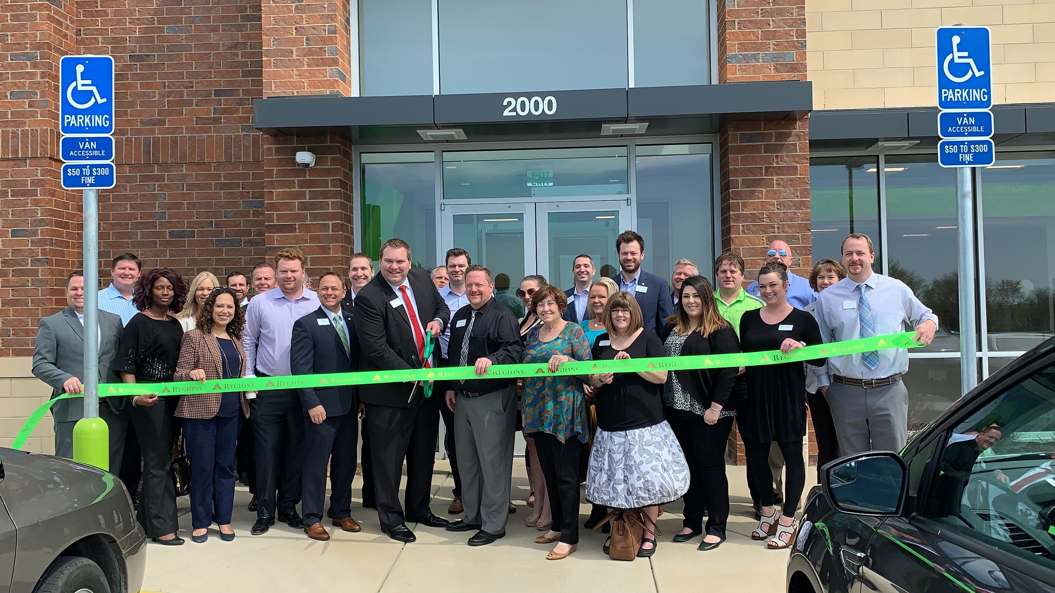 Image for Regions Bank – University Commons Celebrates  Grand Opening with Ribbon Cutting
