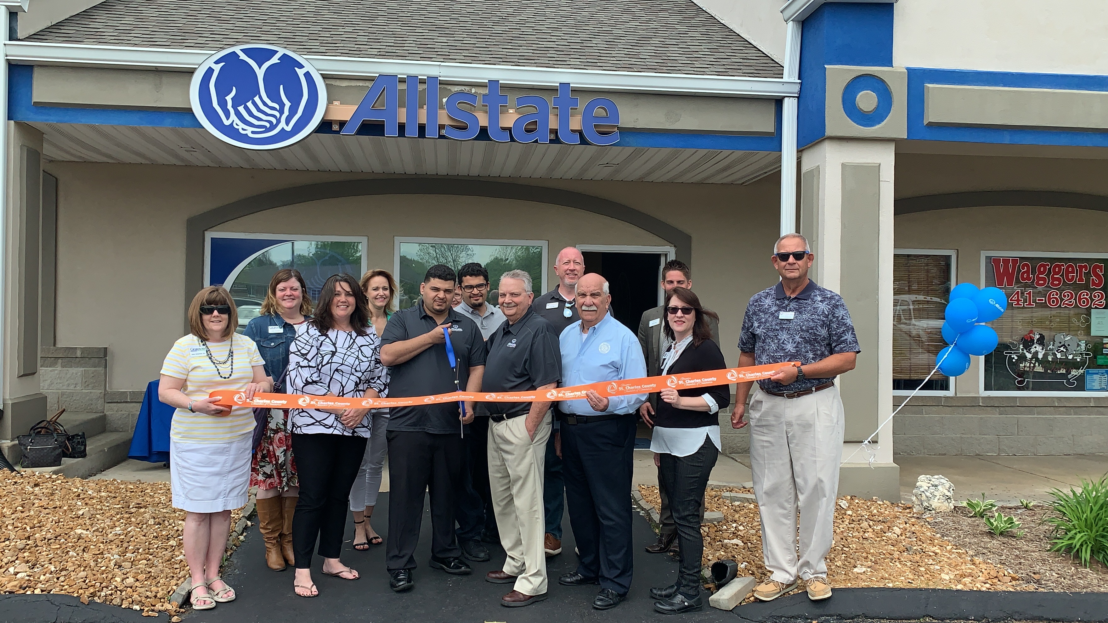 Allstate – Shaima Insurance Agency Celebrates  Grand Opening with Ribbon Cutting